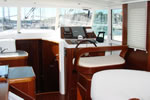 Motor yacht charter in Croatia - Beneteau Swift Trawler 42 - salon