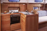 Bavaria 37 Cruiser kitchen