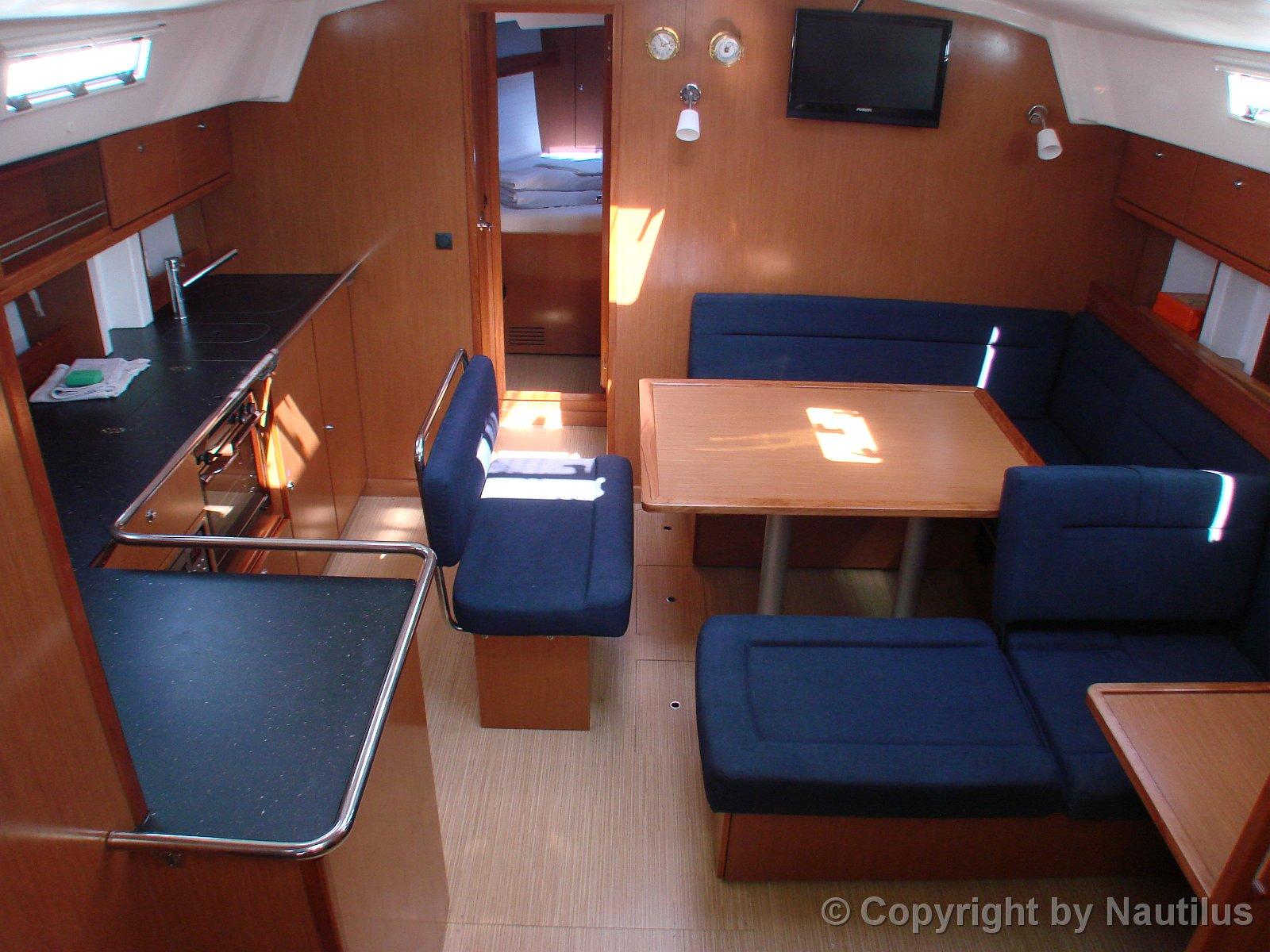 Bavaria 45 cruiser for Interieur stylist