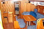 Yacht charter Croatia - Bavaria 46 Cruiser - salon