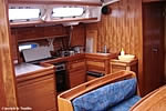 Yacht charter Croatia - Bavaria 46 Cruiser - kitchen in the salon