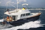 Yacht charter in Croatia - Beneteau Swift Trawler 42 - on the sea