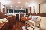 Yacht charter in Croatia - Beneteau Swift Trawler 42 - salon
