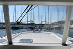 Motor yacht charter in Croatia - Beneteau Swift Trawler 42 - view from the salon