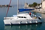Catamaran yacht charter Croatia - Catamaran Lagoon 380 - in action