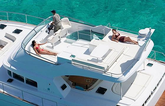 Lagoon Power 44 - motor yacht charter Croatia - flybridge