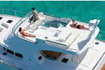 Lagoon Power 44 - Powercat Charter Kroatien  - Flybridge
