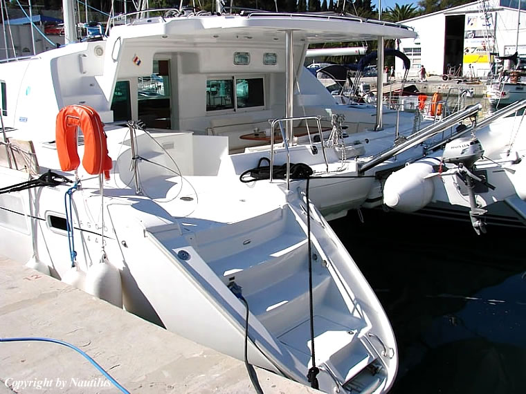 Catamaran yacht charter in Croatia - Lagoon 440