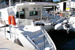Catamaran yacht charter in Croatia - Lagoon 440 - in the base