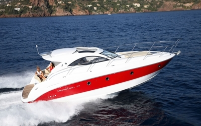 Motor yacht charter in Croatia - Monte Carlo 37 - Air Step Hull Patented Technology