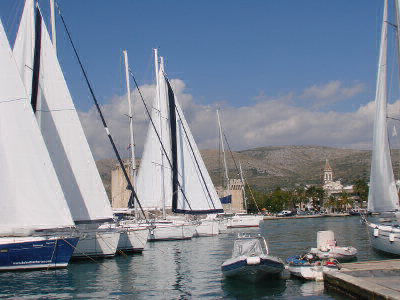 Barche a vela Trogir, charter base, Nautilus Yachting