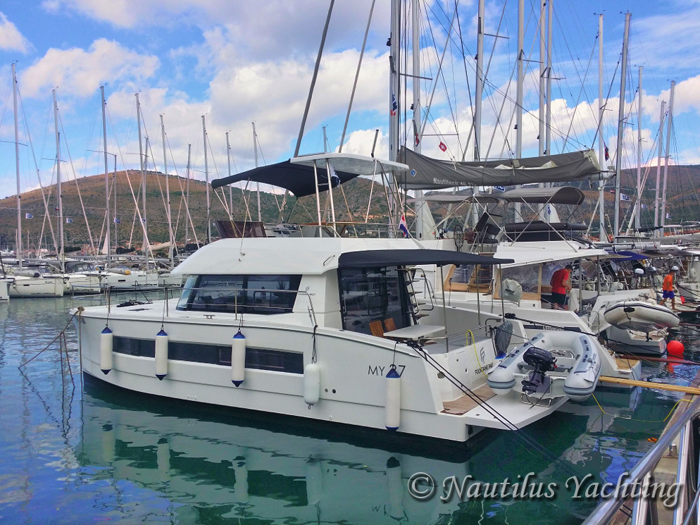 Charter of Fountaine Pajot MY 37 - Trogir - Dalmatia - Croatia