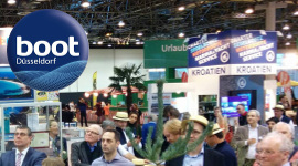 Nautilus Yachting at boat show Dusseldorf 2015
