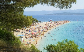 Golden cape beach, Brac, Croatia