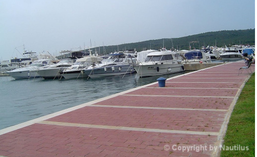 Charter base in Kroatien