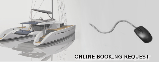 Catamaran booking request
