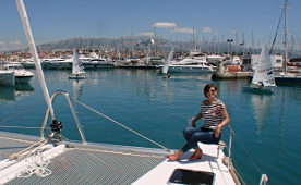 Yacht rent - catamarans in marina Split