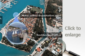 Nautilus Yachting head office, Trogir, Dalmatia