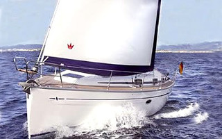 Sailing boat charter in Croatia - Bavaria 37 Cruiser