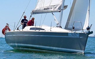 Charter of Elan sailing yachts in Croatia - Elan 340 Impression