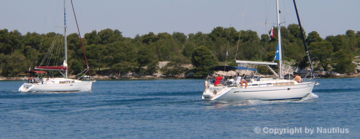 Sailboat charter in Croatia, sailing yacht in Dalmatia