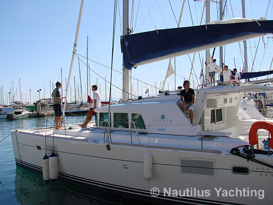 Lagoon 440 in Split, Dalmatia, Croatia