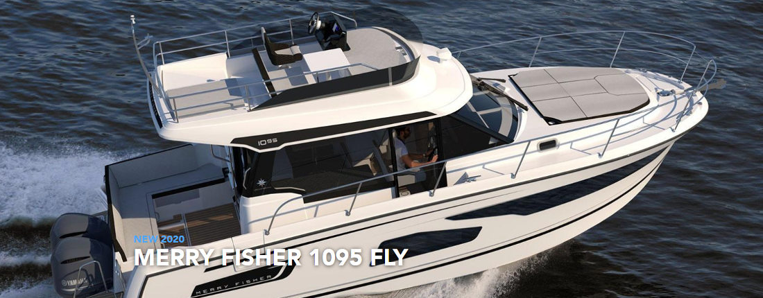 Merry Fisher 1095 Fly - Boat Rent in Croatia