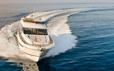 Prestige 520 Fly - Stability at sea