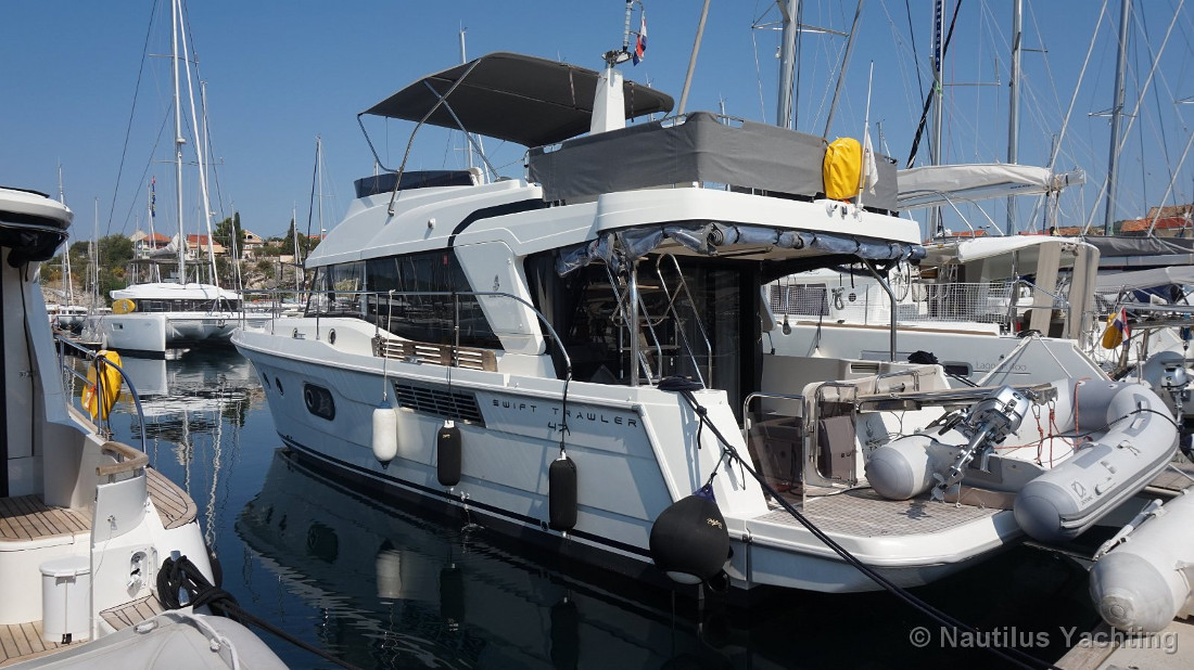 Swift Trawler 47 - Motor yacht charter in Croatia